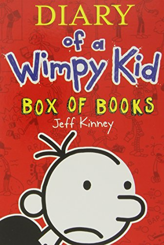 9781419710698: Diary of a Wimpy Kid Box of Books. Volumes 1 - 7