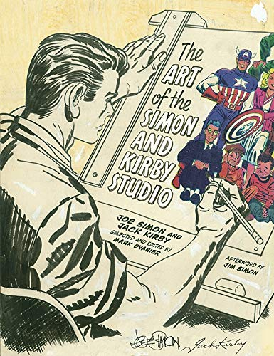 Art of the Simon and Kirby Studio (Hardcover): Joe Simon