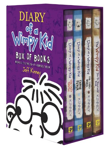 9781419711831 diary of a wimpy kid box of books 5 7 the do it 9781419711831 diary of a wimpy kid box of books 5 7 the do solutioingenieria Gallery