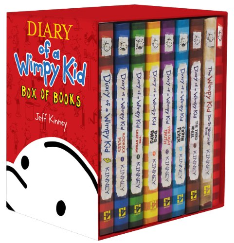 9781419711879: Diary of a Wimpy Kid Box of Books: Includes Books 1-7, the Do-it-yourself Book & Journal