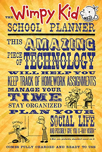 9781419712548: The Wimpy Kid School Planner (Diary of a Wimpy Kid)