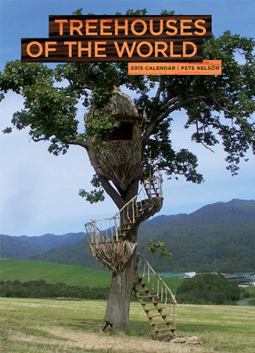 9781419712661: Treehouses of the World 2015 Wall Calendar
