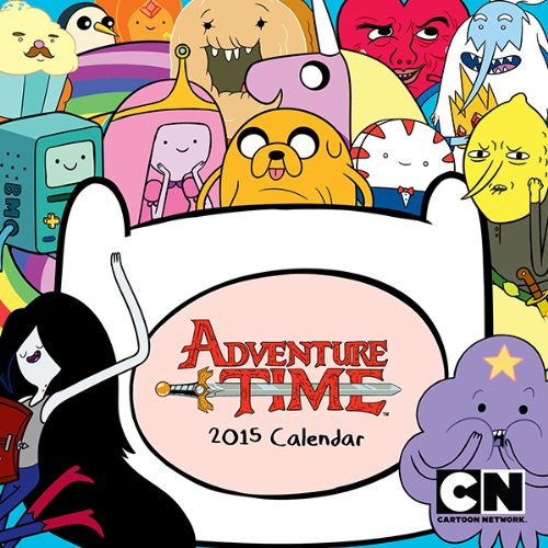 9781419713316: Adventure Time 2015 Mini Wall Calendar