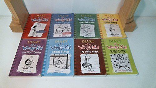 Diary of a Wimpy Kid Set 1-8