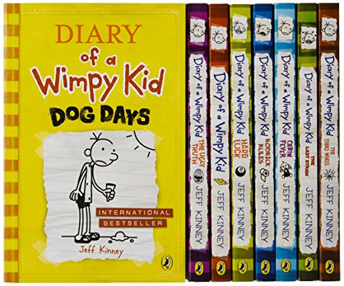 Diary of a Wimpy Kid Box of Books 1-8 + the Do-It-Yourself Book (Hardback): Jeff Kinney
