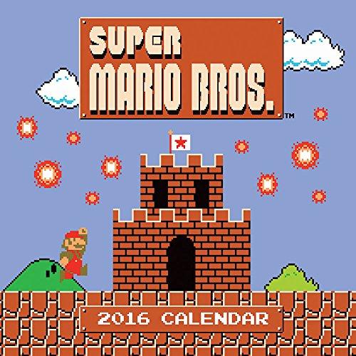 9781419716072: Super Mario Bros. 2016 Calendar