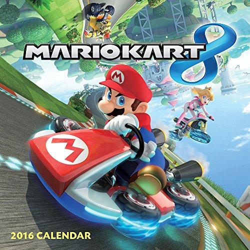 9781419716904: Mario Kart 2016 Wall Calendar (Abrams Calendars)