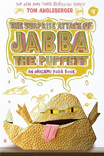 9781419720307: The Surprise Attack of Jabba the Puppett (Origami Yoda #4)