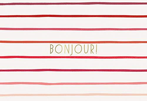 9781419720628: Paris Street Style Notecards: Bonjour!