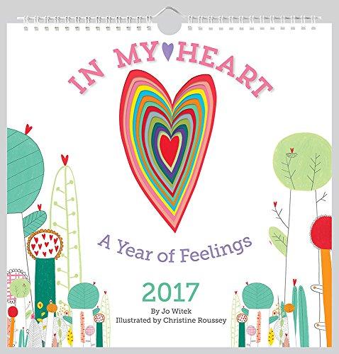 In My Heart 2017 Wall Calendar