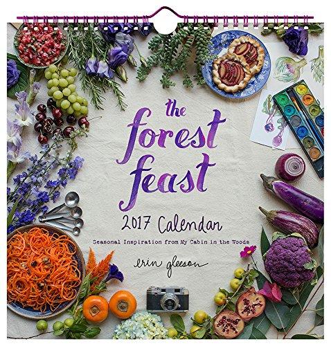 Forest Feast 2017 Wall Calendar