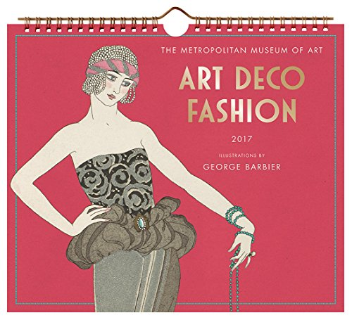 Art Deco Fashion 2017 Wall Calendar