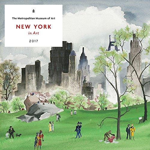 9781419721748: New York in Art 2017 Wall Calendar