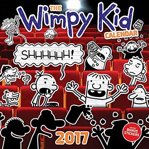 Wimpy Kid 2017 Illustrated Calendar