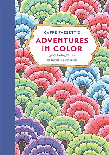 9781419724336: Kaffe Fassett's Adventures in Color (Adult Coloring Book): 36 Coloring Plates, 10 Inspiring Tutorials (Colouring Book)