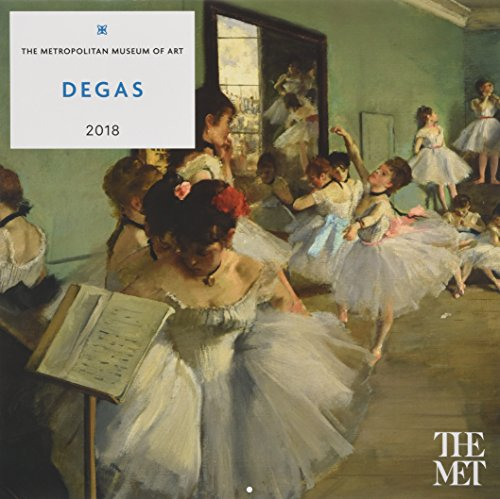 Calendar Metropolitan Museum Of Art : Degas wall calendar by metropolitan museum of art