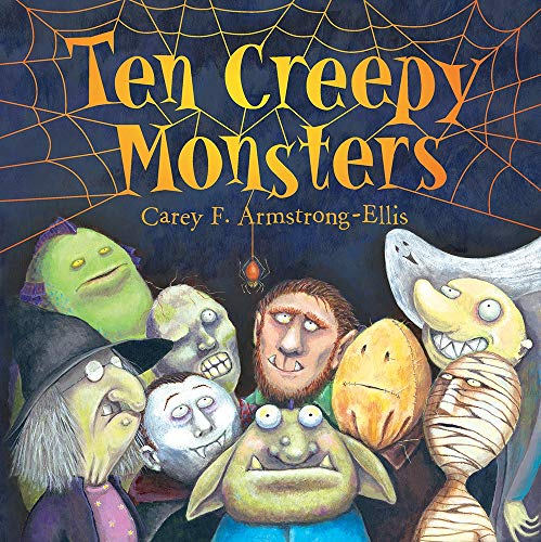 9781419727412: Ten Creepy Monsters