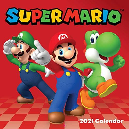 9781419744525: Super Mario 2021 Wall Calendar