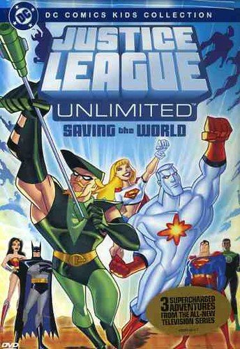 9781419805028: Justice League Unlimited: Saving the World - DC Comics Kids Collection