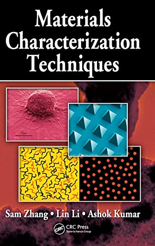 Materials Characterization Techniques: Zhang, Sam (Author)/