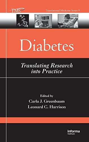 9781420043716: Diabetes: Translating Research into Practice (Translational Medicine)