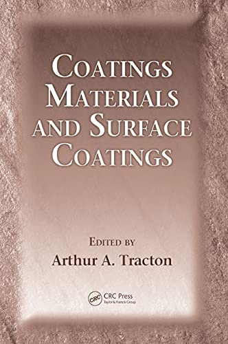 9781420044041: Coatings Materials and Surface Coatings