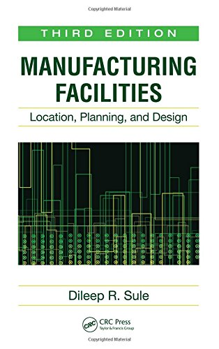 9781420044225: Manufacturing Facilities: Location, Planning, and Design, Third Edition