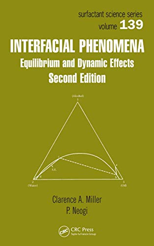 9781420044423: Interfacial Phenomena: Equilibrium and Dynamic Effects, Second Edition (Surfactant Science)