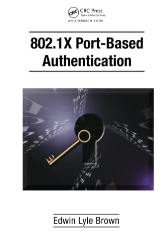 802.1x Port-Based Authentication (Hardback): Edwin Lyle Brown