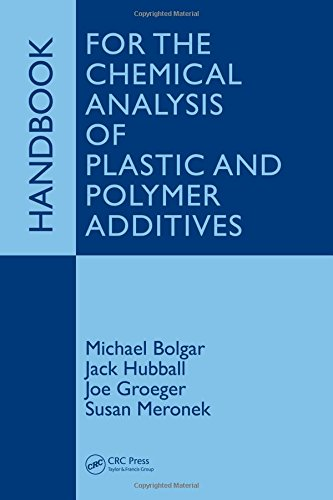 9781420044874: Handbook for the Chemical Analysis of Plastic and Polymer Additives