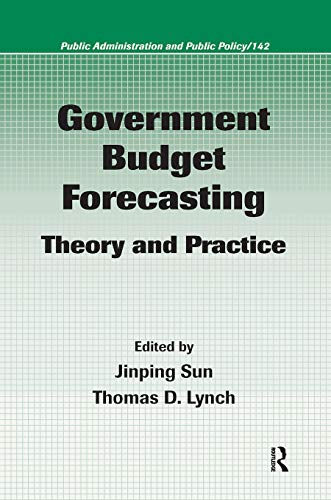 9781420045826: Government Budget Forecasting: Theory and Practice