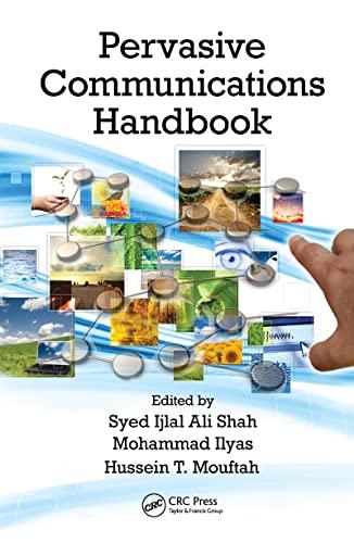 9781420051094: Pervasive Communications Handbook