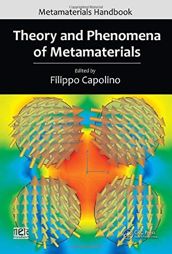 9781420054255: Theory and Phenomena of Metamaterials (Metamaterials Handbook) (Volume 2)