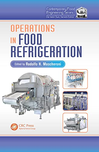 9781420055481: Operations in Food Refrigeration (Contemporary Food Engineering)