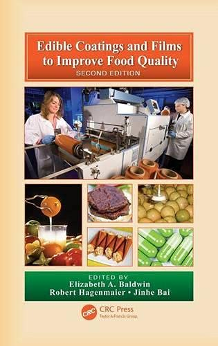 9781420059625: Edible Coatings and Films to Improve Food Quality, Second Edition