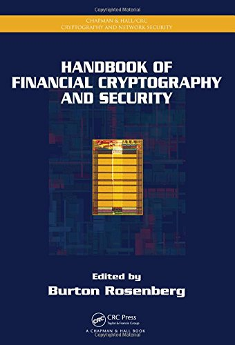 9781420059816: Handbook of Financial Cryptography and Security (Chapman & Hall/CRC Cryptography and Network Security Series)