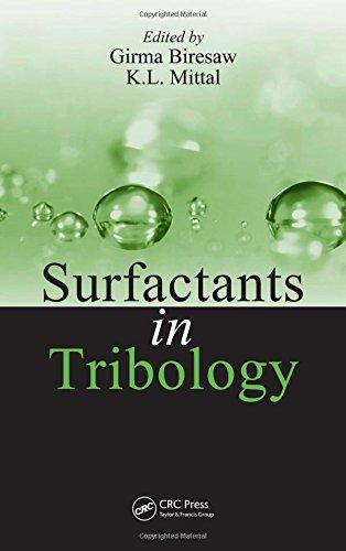 9781420060072: Surfactants in Tribology, Volume 1