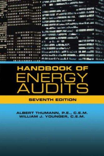 9781420067910: Handbook of Energy Audits, Seventh Edition