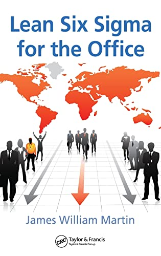 9781420068795: Lean Six Sigma for the Office (Resource Management)