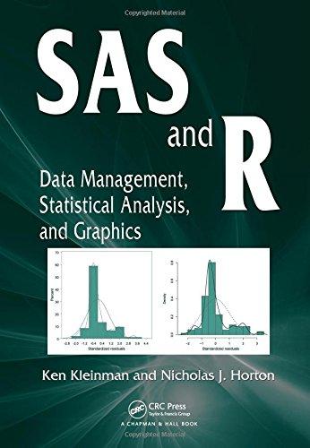 SAS and R: Data Management, Statistical Analysis,: Kleinman, Ken; Horton,