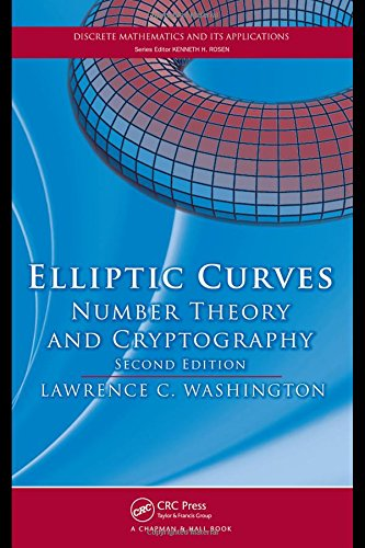 9781420071467: Elliptic Curves: Number Theory and Cryptography, Second Edition (Discrete Mathematics and Its Applications)