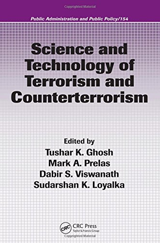 Science and Technology of Terrorism and Counterterrorism,: Berman, Evan M.