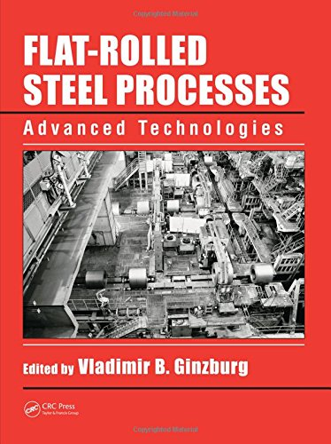9781420072921: Flat-Rolled Steel Processes: Advanced Technologies