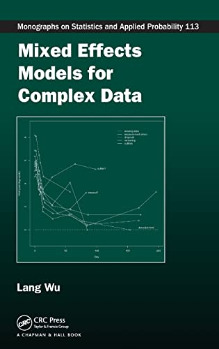9781420074024: Mixed Effects Models for Complex Data (Chapman & Hall/CRC Monographs on Statistics & Applied Probability)