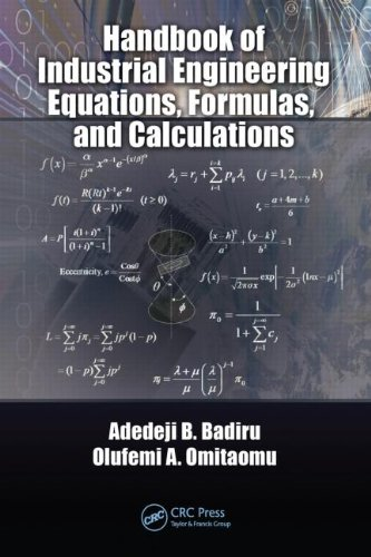 9781420076271: Handbook of Industrial Engineering Equations, Formulas, and Calculations (Systems Innovation Book Series)