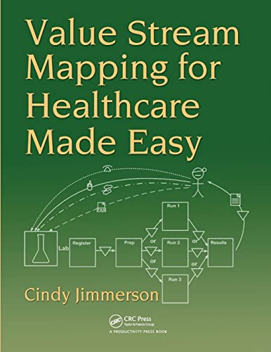 Value Stream Mapping for Healthcare Made Easy: Jimmerson, Cindy