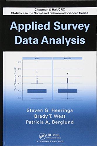 Applied Survey Data Analysis (Chapman Hall/CRC Statistics