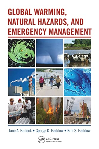 9781420081824: Global Warming, Natural Hazards, and Emergency Management