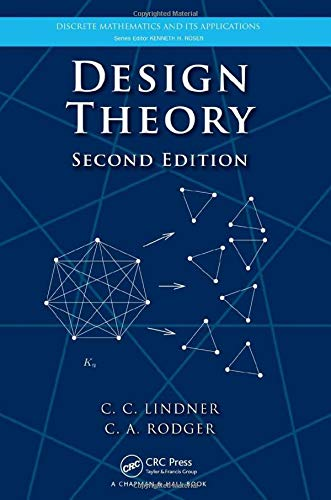 9781420082968: Design Theory, Second Edition (Discrete Mathematics and Its Applications)
