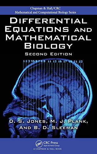 9781420083576: Differential Equations and Mathematical Biology (Chapman & Hall/CRC Mathematical and Computational Biology)